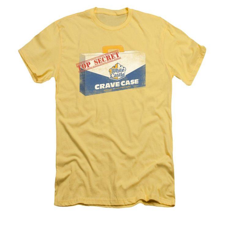 White Castle - Crave Case Adult Slim Fit T-Shirt