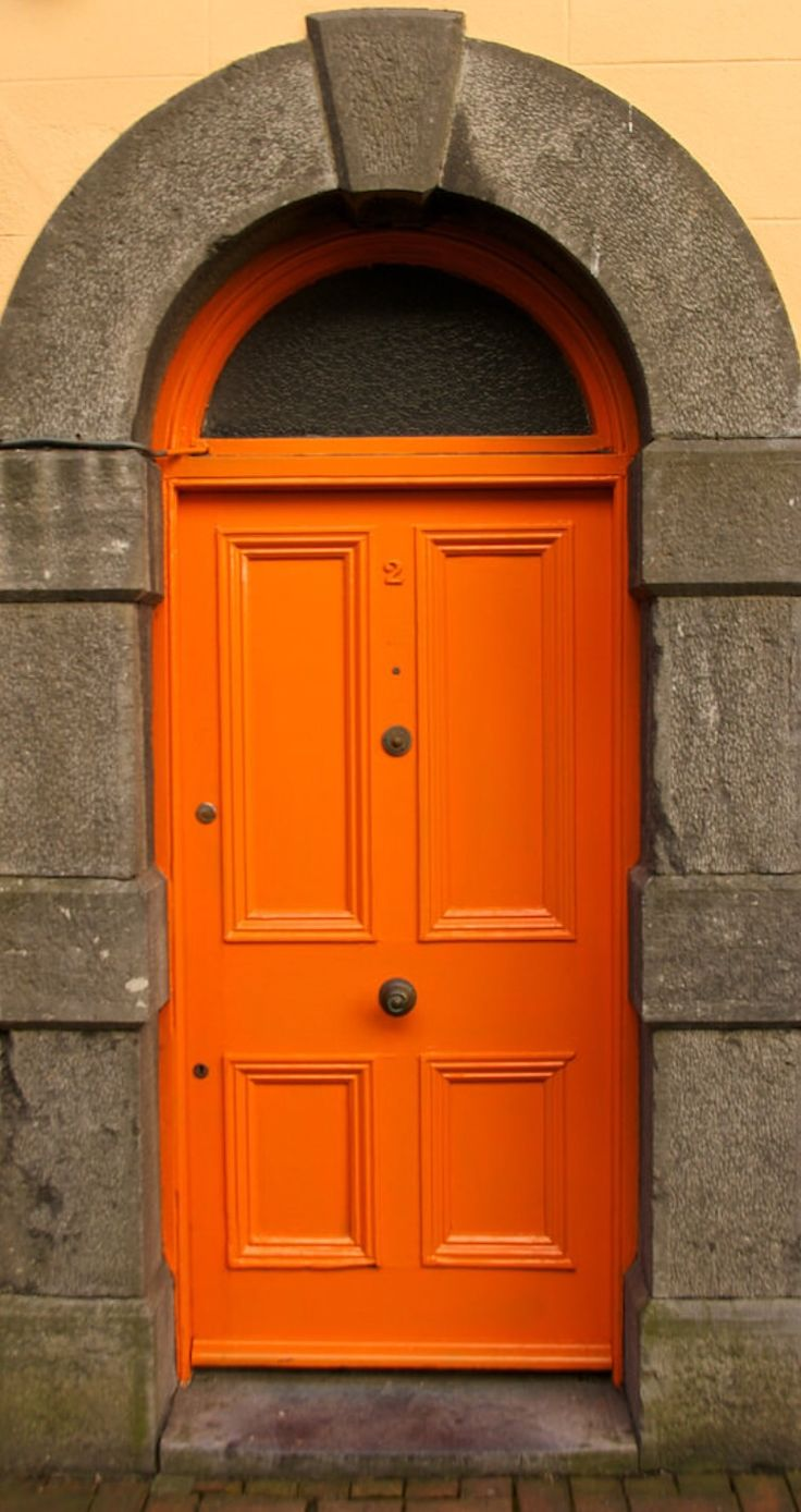 17 best ideas about orange front doors on pinterest for Door 3 facebook
