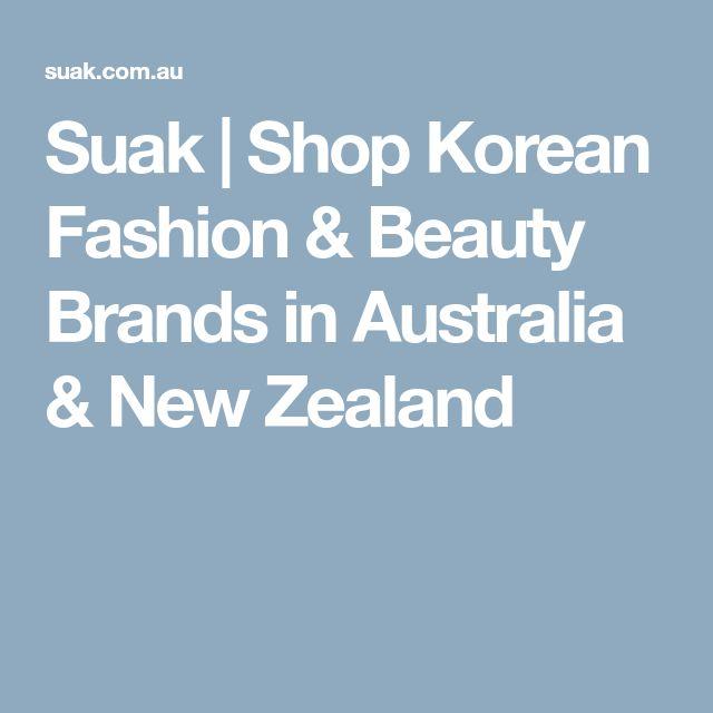 Suak | Shop Korean Fashion & Beauty Brands in Australia & New Zealand