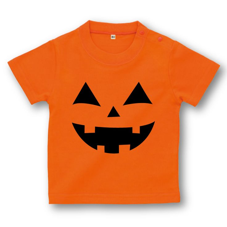 ハロウィン 衣装 子供 ハロウィン かぼちゃ ベビーTシャツ【コスプレ コスチューム デビル 仮装 衣装 子供 誕生日 プレゼント お祝い キッズ Tシャツ ベビー 親子ペア メンズ レディース】 02P28Sep16