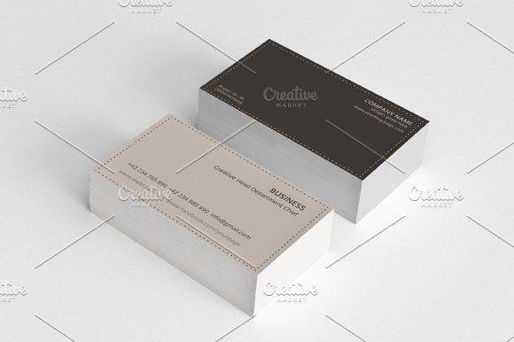 Minimal Business Card Vol 2 Clean Business Card Design Minimal Business Card Business Cards Creative Templates