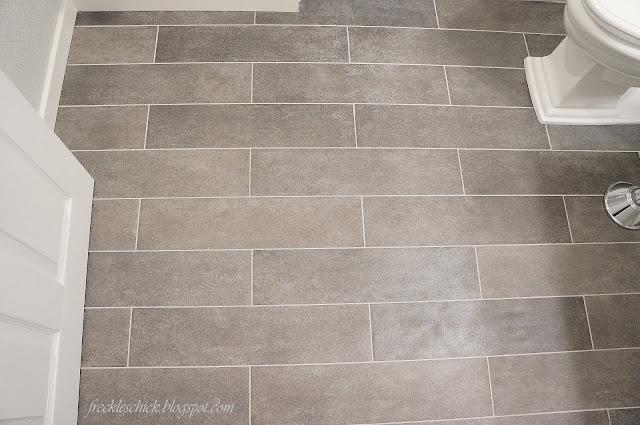 grey plank floor tile
