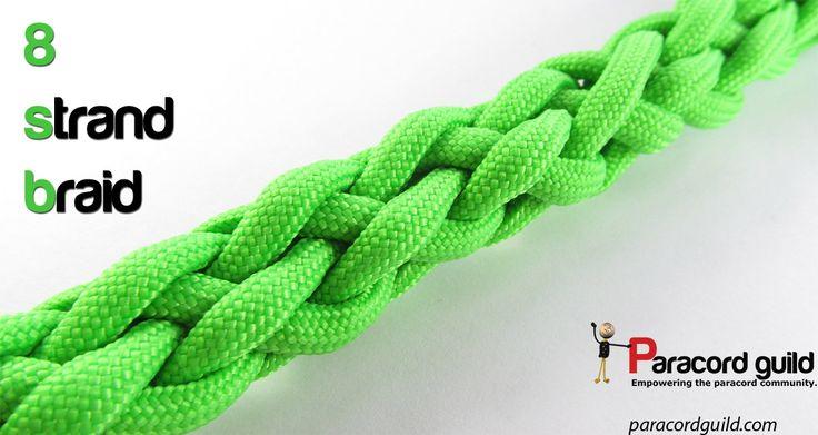 8 strand round braid tutorial.