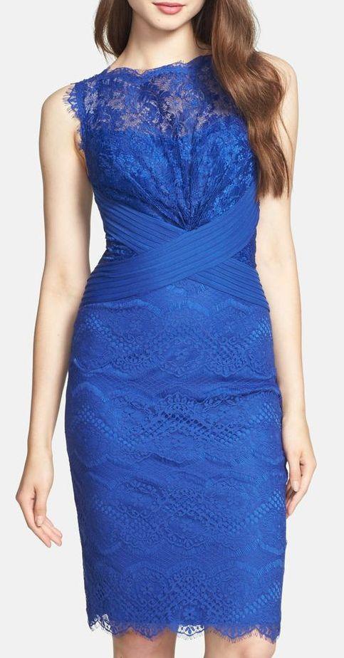 Tadashi Shoji | Lace Sheath Dress