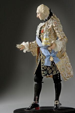 Louis XV, 1745. An Historical Figures model. Superb!