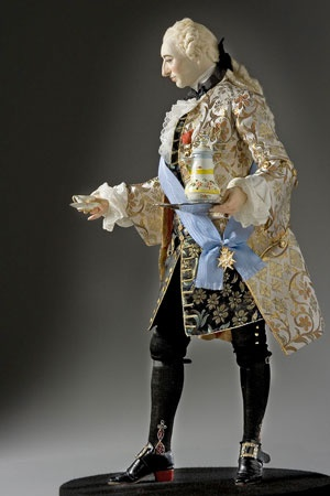 Louis XV, 1745. An Historical Figures model. Superb!