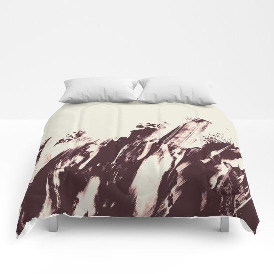 Sea in Winter Comforters