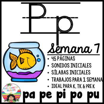 sonidos iniciales para la letra P y las silabas iniciales pa, pe, pi, po, pu…