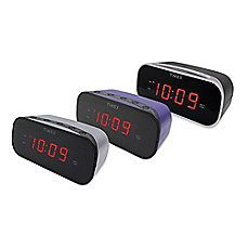 image of Timex® Alarm Clock with 0.7-Inch Red Display