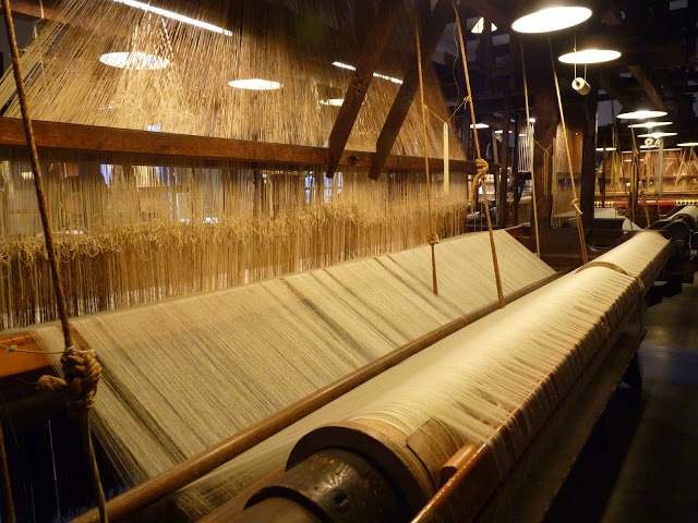 evehel: 1900's Textile Museum and factory in Tilburg > Damast weverij