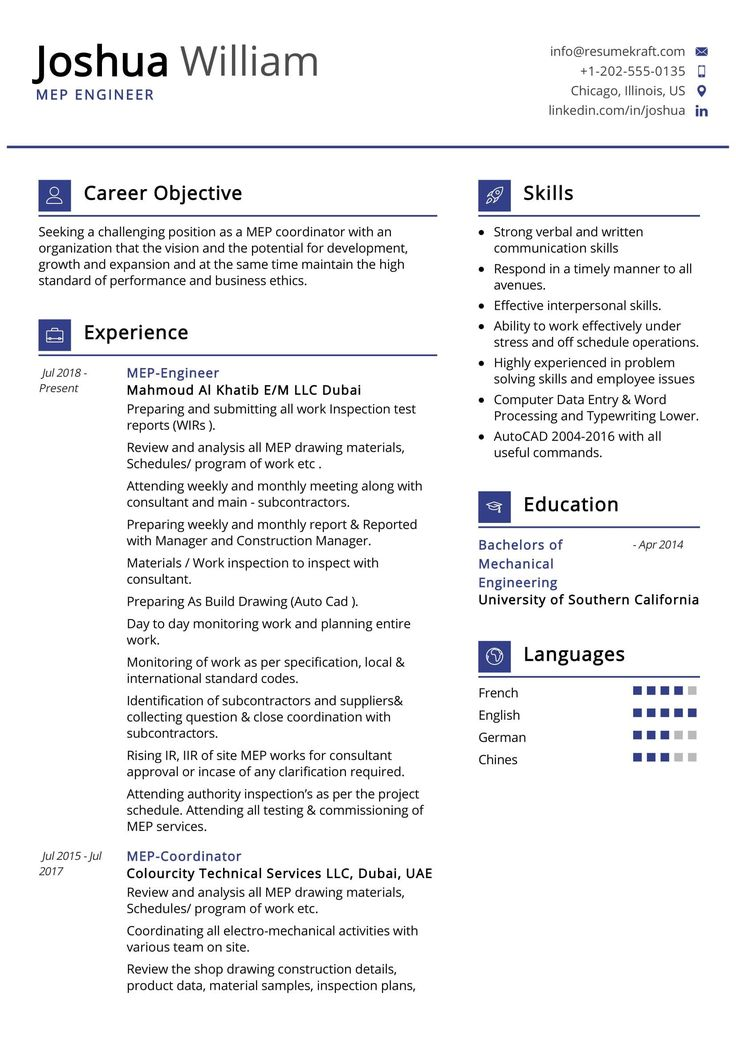 42+ Hvac engineer resume sample ideas in 2021