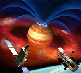 JAXA | 高速自転が引き起こす、木星のオーロラ爆発