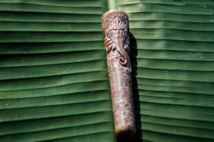 Chillum Pipe, Indian stone Chillum, Handcarved  Marble Chillum pipe, 420 smoking