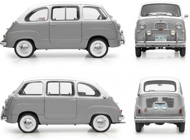 (via Fiat 600 Multipla (1956–1966))Original: TumblrPages Max Pic