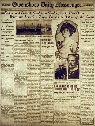 Titanic: 100 years later the news still saddens and grips the interest of so many (AP photo)