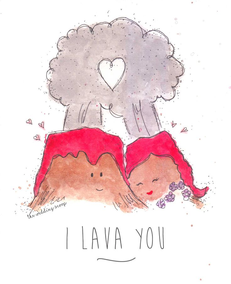Short Movie Quotes: I Lava You // Inspired By Disney's Short Film On Volcano