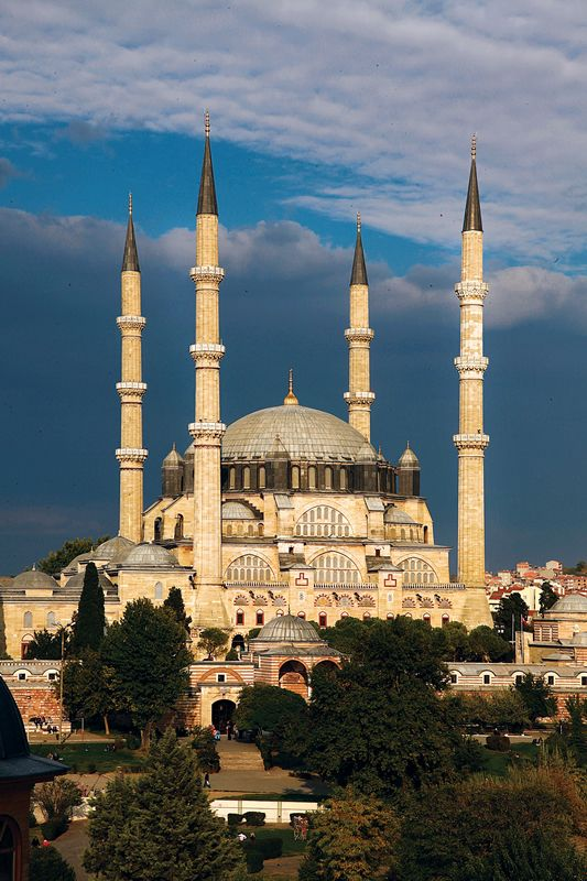The Selimiye Mosque is an Ottoman Mosque in the city of Edirne, Turkey.