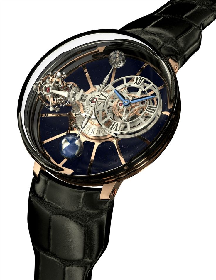 """Jacob & Co. Astronomia Tourbillon Watch """"For 2014 Jacob & Co. returns with a rather amazing watch creation sure to impress everyone from traditional watch lovers to the public at large. Watch the video of the new Astronomia Tourbillon and it is easy understand why """"wow"""" is a typical response to the complex and very interesting horological creation..."""""""