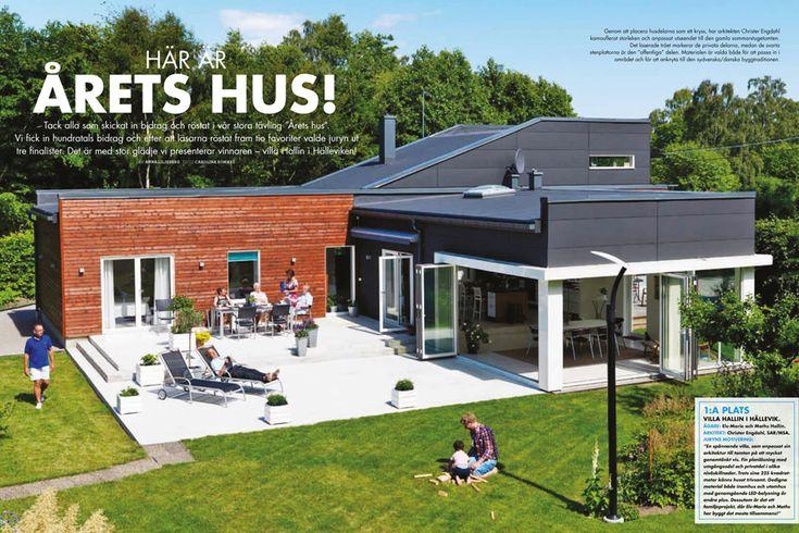 Villa Hallin i Hällevik Årets hus 2012. Fotograf