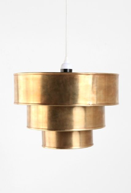 brass tiered pendant at urban outfitters $68Pendants Lamps, Urbanoutfitters, Dining Room, Urban Outfitters, Lights Fixtures, Tiered Pendants, Pendants Shades, Pendants Lights, Brass Pendants