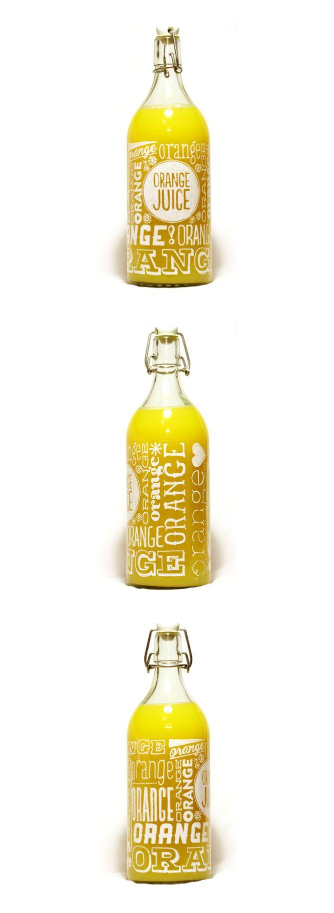 Orange Juice Packaging PD