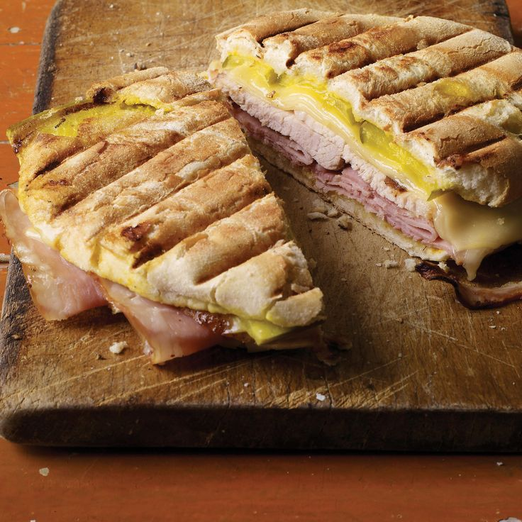 Add a few dashes of your favorite hot sauce to these delicious pork-and-cheese sandwiches for some extra kick.