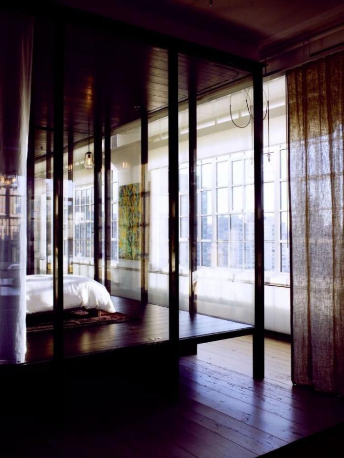 UN LOFT CON CORTINAS | Decorar tu casa es facilisimo.com