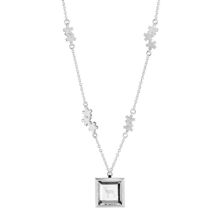 Kalevala Jewelry Luminous White necklace / Kuulas-kaulakoru