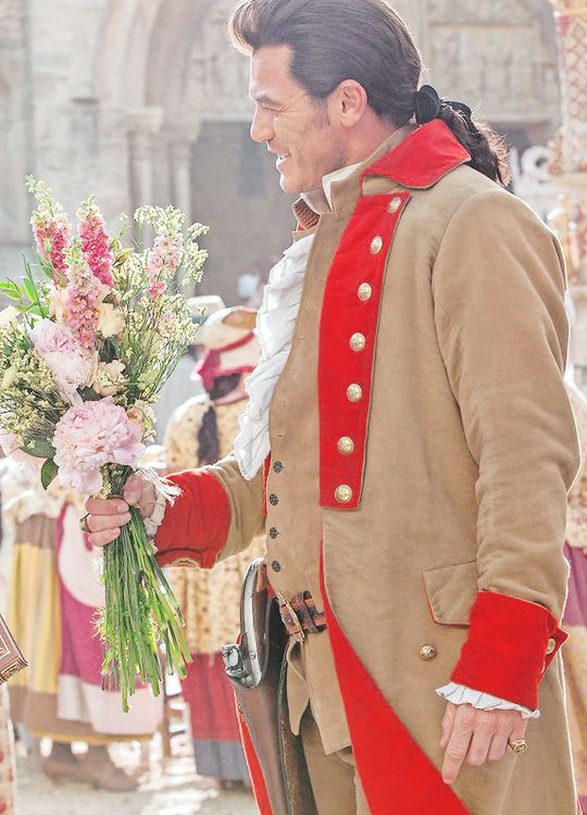 Luke Evans as Gaston, Beauty and the Beast