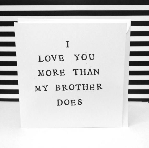Funny mothers day card, mother and daughter, hand made greeting cards, fathers d...