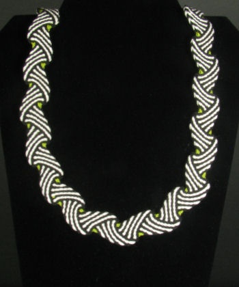 Ply Split Braiding Necklace 78