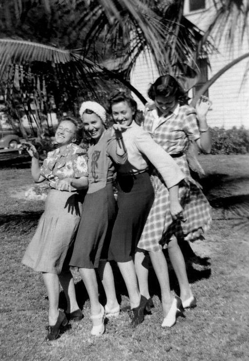 Bonnie and Friends: 1944 Fort Myers, FL!