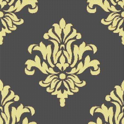 96 best Damask images on Pinterest | Wall stenciling, Stencil and ...