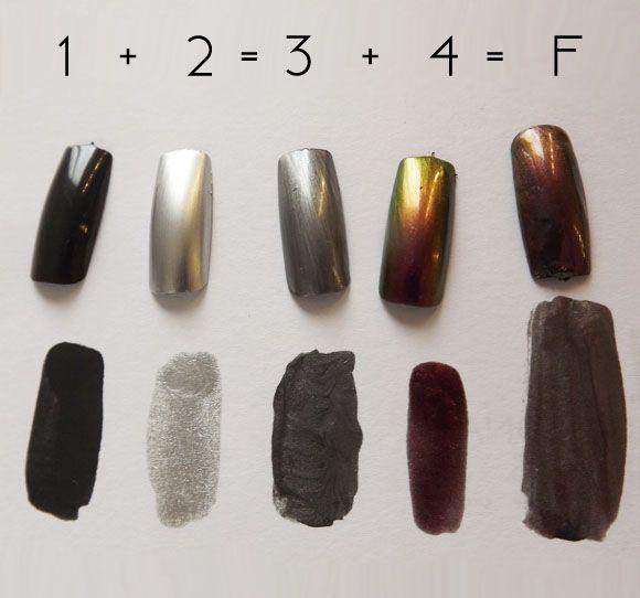 50 sfumature per un frankenpolish  #FrankenPolish #nailart #50sfumature @tentunghie shades