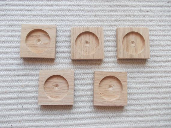 5 pc unfinished square pendant/brooch base with 25mm cabochon frame,square pendant setting,wooden pendant tray,jewel supply,diy  pieces square wooden jewel base/frame for jewel making. It is perfect size to make earrings/brooch or pendant. The edges are slightly rounded.   https://www.etsy.com/listing/185288749/5-pc-unfinished-square-pendantbrooch?ref=related-2