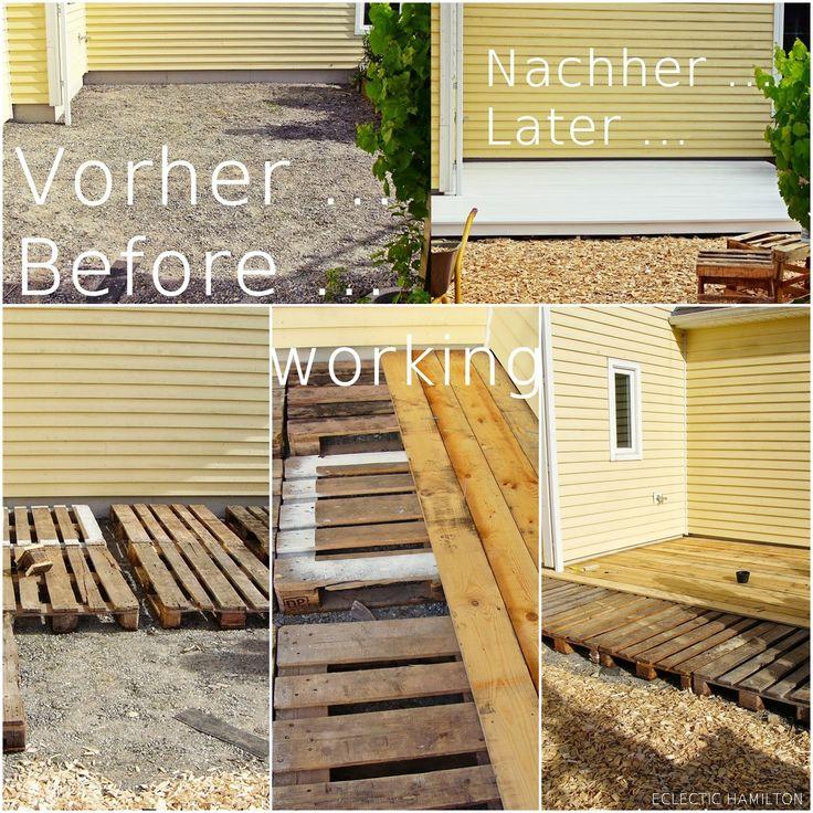 Neugestaltung meiner DIY-Terrasse #ebay #makeover #garten