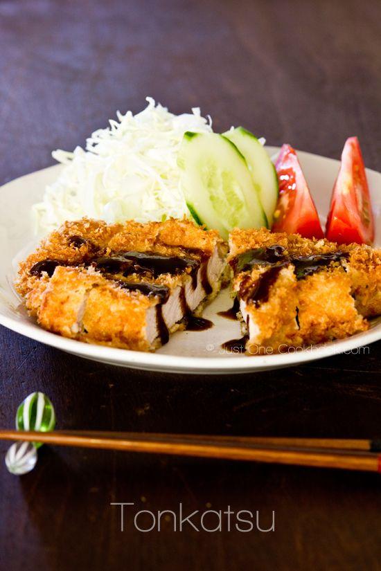 [JAPAN] Tonkatsu (Japanese Pork Cutlet)   Easy Japanese Recipes at JustOneCookbook.com