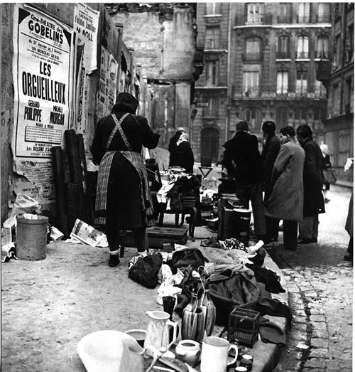 Patrice Molinard - Le ventre de Paris - v. 1954 - [photos to illustrate Jean-Paul Clébert's 'Paris Insolite']