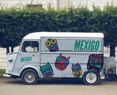 MEXIGO Food Truck My Favourite Project From When I Was A Student Illustration