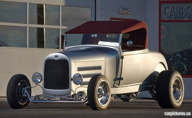 "1929 Ford ""Silver Bullet"" Roadster (Boyd Coddington)"