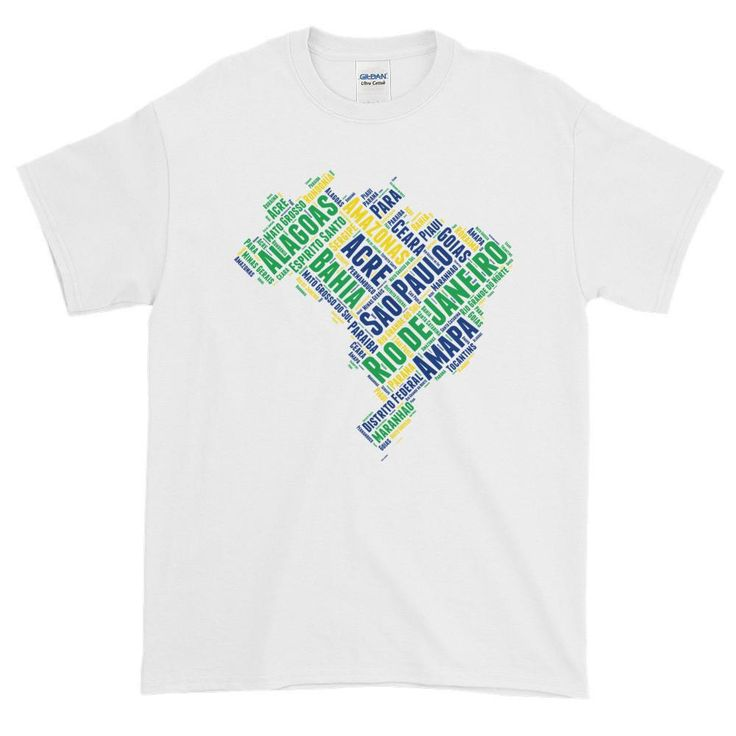 Unidades Federativas do Brasil - Brazil Men's Short Sleeve T-Shirt