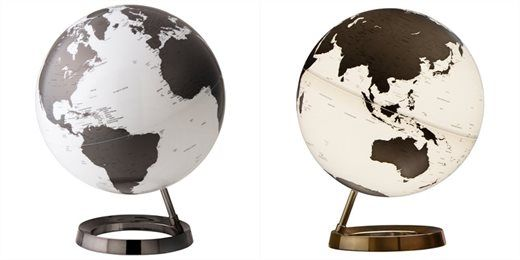 Atmosphere® Lighted Globe - Charcoal