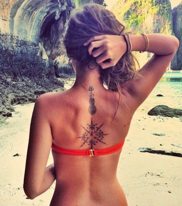 Les 25 meilleures id es de la cat gorie tatouage vietnam sur pinterest tatouage calligraphi - Tatouage ailes dans le dos ...
