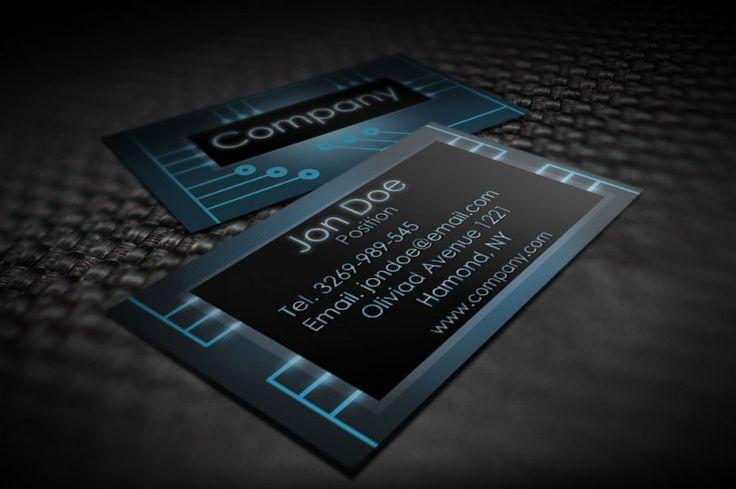 Mejores 41 imágenes de Blue Business Cards Templates en Pinterest ...