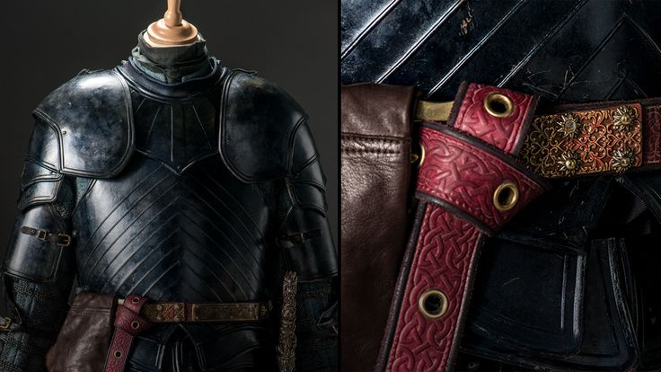 """""""He crafted the armor in the 'Lannister way,' which is to make it in the best way."""" Photo Credit: Helen Sloan"""