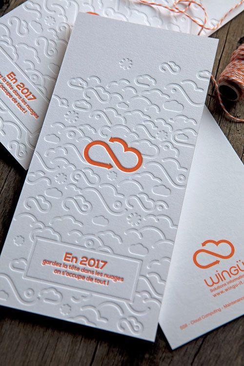 Cartes de voeux pour Wingu IT / création agence Boondooa