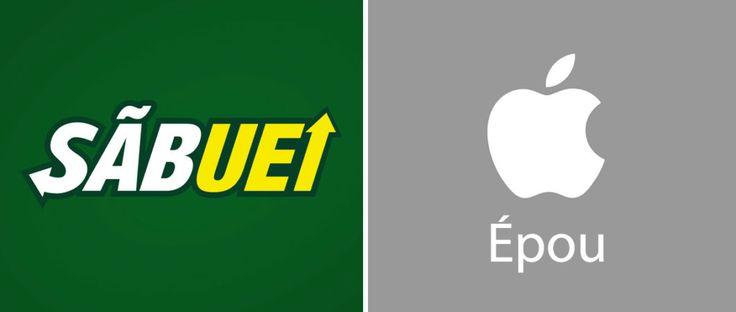 #Comofala traz logotipos famosos com a pronúncia correta.