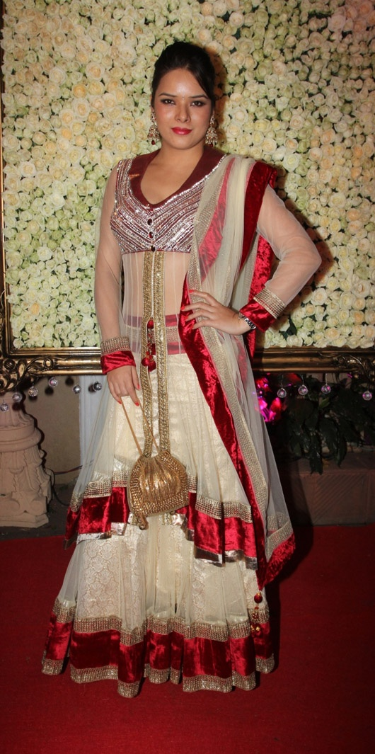 Udita Goswami at a Diwali Party, Nov, 12 -