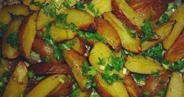 Самая вкусная запеченная картошечка в духовке горячая и ароматная