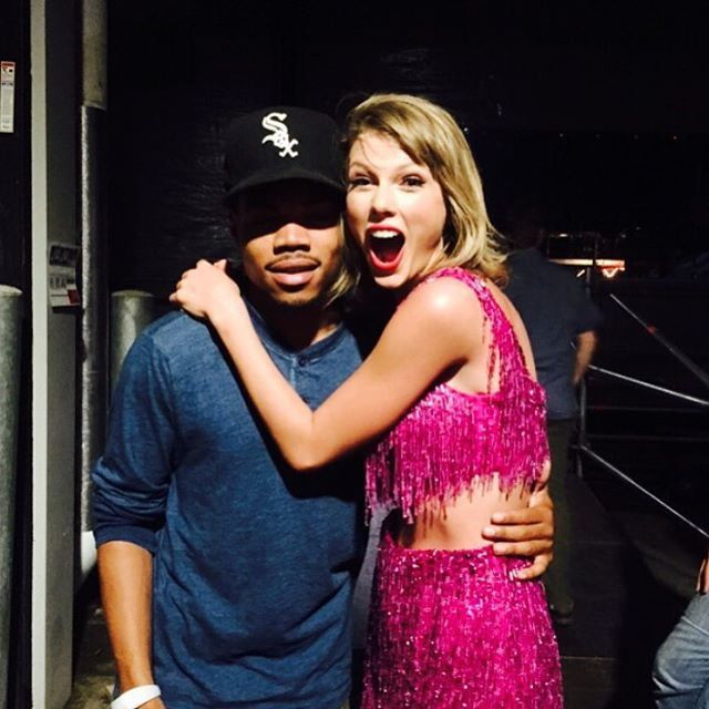 Pin for Later: 8 Hip-Hop Stars Taylor Swift Could Not Deny Her Love For Chance the Rapper